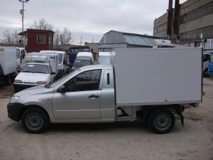 2-х местный изотермический фургон металл, толщина стенок 40 мм, 50 мм