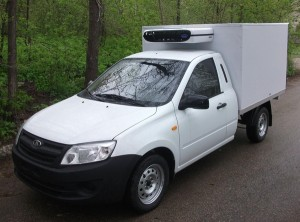 (2-х местный, изотермический фургон, толщина стенок 50 мм, V=3,2 м3, холодильная установка Carrier VIENTO 200