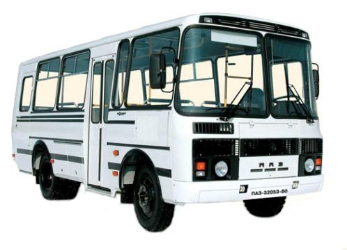ПАЗ-32053  автобус второго класса