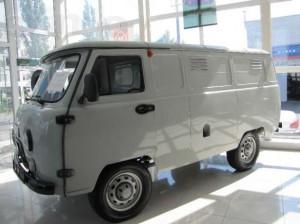 Фургон неостекленный, дв. ЗМЗ-409 инжектор, мягкие сиденья
