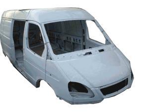 Каркас  фургон 3 места