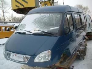 Кузов ГАЗ 3221 Газель автобус 8-ми мест. в сборе 406 дв.