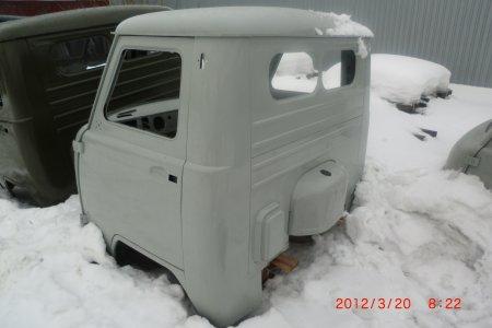 каркас грузовой фургон