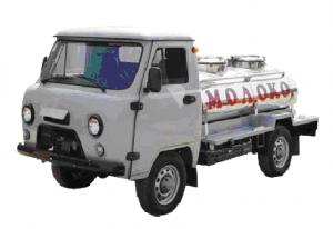 Автомобиль УАЗ-36221 (1200 л) с цистерной 1200 л (ЛКП)