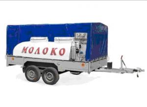 Прицеп двухосный  ПГ-82882  Прицеп молочный 1200 л (н/ж) без охладителя