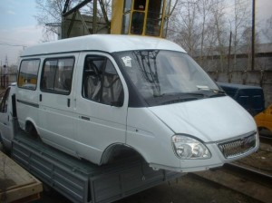 Кузов ГАЗ 2217-40 Соболь 10-ти местный в сборе.