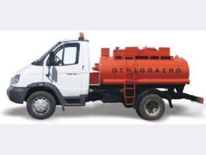 Топливозаправщик 36135-011, объем 4,9 куб.м., 1 секция